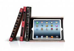 Funda de piel TWELVE SOUTH BookBook roja para iPad 2 y 3