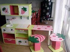 cuisini re en bois pour enfant fait maison diy cuisines enfants pinterest. Black Bedroom Furniture Sets. Home Design Ideas