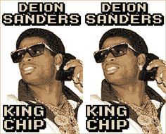 Yep, there's a hiphop track called Deion Sanders