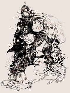 beautiful+illustration | Beautiful Illustrations by Martine Johanna - pixelelement.com