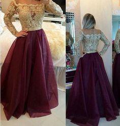 Resultado de imagen para vestidos vino y dorado
