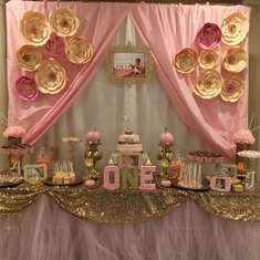 Pink & Gold 1st Birthday - Pink & gold