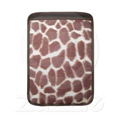 Giraffe Print Sleeve For Macbook Air