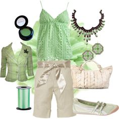 """""""Green lullaby"""" by july007 on Polyvore"""