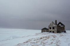 Abandoned places, Iceland.
