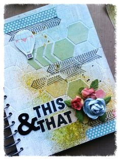 My this and that journal cover. Stampin up journal