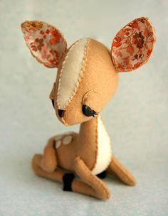 ☃ Plush Toy Preciousness ☃  Bambi by Skunkboy Creatures