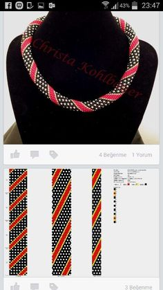 "Heat Bead Array Templates - Prison Heat Bead Array Templates -Prison Heat Bead Array Templates - Prison Heat Bead Array Templates - Бисероплетение ""М. Crochet Braid Pattern, Braid Patterns, Bead Crochet Patterns, Bead Crochet Rope, Beading Patterns, Beaded Crochet, Crochet Braids, Bead Jewellery, Beaded Jewelry"