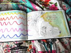 Shadow Work Journaling – My Biggest Project This Year, Full Article here: http://jennibelliestudio.blogspot.co.uk/2015/09/shadow-work-journaling-my-biggest.html