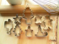 Christmas Cookie Cutter Collection  Vintage by TheInspiredTrader