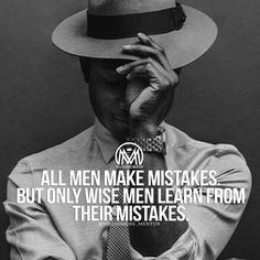 It's never easy to admit you've made a mistake, but it's a crucial step in learning, growing, and improving yourself. #millionairementor