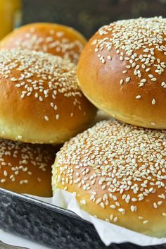 Beautiful Burger Buns Recipe-Made 10/2016 - This is the bun recipe to end all bun recipes. Perfect!