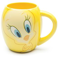 Amazon.com: Vandor 18-Ounce Mug, Looney Tunes Tweety: Kitchen & Dining