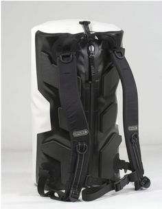 8bd0b8b6c9c Ortlieb's D-Fender looks like an unassuming biking backpack, but actually  sports a foam pad with air channels, waterproof shell and a system of  straps and.