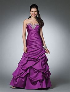 Long Purple Evening Gowns, Purple Prom Dresses 2012, Purple Ball Gown. Like the fit