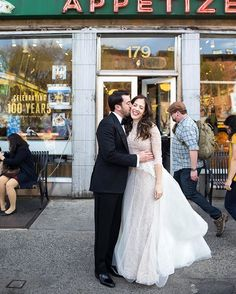 A beautiful couple on the streets of #NYC. #ChristianOthStudio
