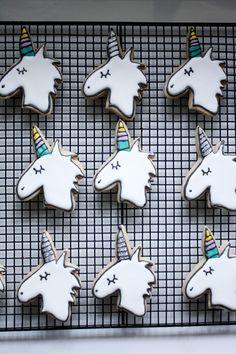 Unicorn power sugar cookies!!