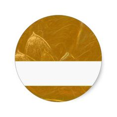 GOLDEN LOTUS BLANK TEMPLATE ARTISTIC LABEL DECO GI ROUND STICKER