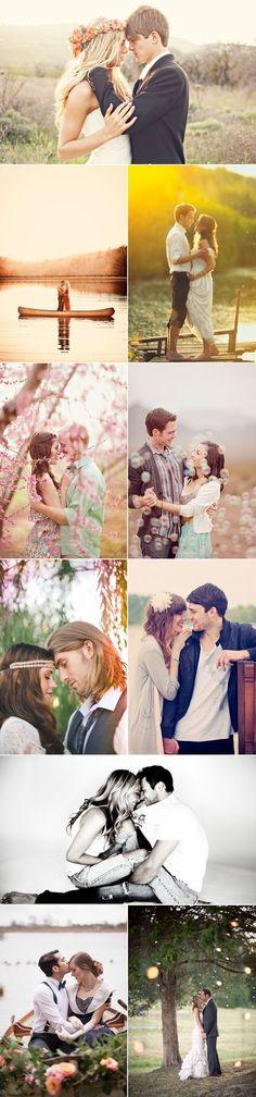 23 Romantic Engagement Photos by Liz Cc'