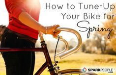 Spring is the perfect time to hit the road (or trail) on your bike. Follow this guide to basic bicycle maintenance to help ensure your ride is safe and comfortable. via @SparkPeople