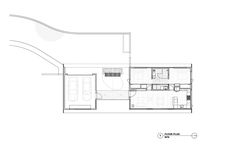 Image 12 of 18 from gallery of Overlook Guest House / Schwartz and Architecture. Floor Plan