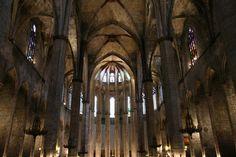 Barcelona, Santa Maria del Mar #Barcelona #Architecture