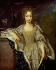 Marie-Adelaide of Savoy (1685-1712) Daughter of Victor Amadeus II of Sardinia and Anne Marie d'Orleans. Wife of Louis, Duke of Burgundy (1682-1712)
