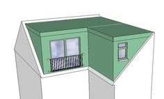 Costs of Loft Conversions in London & Oxford Attic Loft, Loft Room, Attic Rooms, Attic Spaces, Bedroom Loft, House Extension Design, Roof Extension, Extension Ideas, Loft Conversion Plans