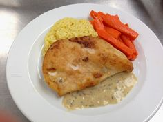 Alvin College Culinary Arts: Sauteed Chicken Breast with Tarragon Sauce.  Recipe included.