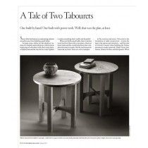 A Tale of Two Tabourets  Digital Download