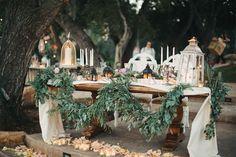 IMPRESIONANTE boda rústica chic! Nunca el campo tuvo tanto estilo!