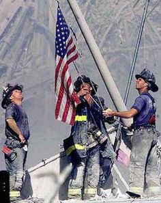 never forget September 9/11 heroes moment of silence