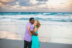 Delray Beach Engagement Session, Atlantic Ocean Engagement Session, Delray Beach Wedding Photographer, Engagement Session on the beach, what to wear for an engagement session on the beach, interracial engagement photos, delray beach photographer, CamillaRain Photography,