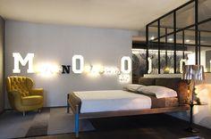 Camera da letto d'esposizione, letto designed by millenovecento89 | Armonia Interni Srl