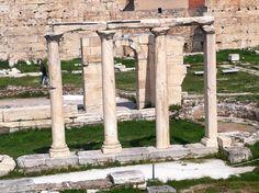 Ágora Romana en Atenas (Grecia). #Viajar #viajes #destinos #turismo #atenas #AthensTravel #AgoraAtenas