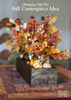 Fall Centerpiece Ide