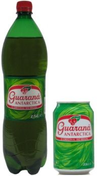 Guaraná Antartica - Brazilian soft drink: you can get it in the U.S. in some places, like Latin American grocery stores. Guarana is fantastic!