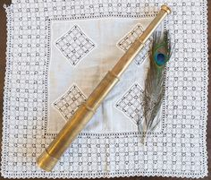 Vintage antique brass telescope spyglass by freshdarling on Etsy What Is Vintage, Vintage Style, Brass Patina, Antique Brass, Vintage Antiques, Vintage Items, Reclamation Yard, Modern Vintage Homes, Vintage Ornaments