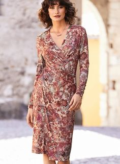 e703810de3232 One of our bestselling silhouettes, the alluring Savannah Dress in fluid  viscose and elastane jersey