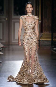Zuhair Murad, Défilé Couture Hiver 2011-2012 - Vogue.fr