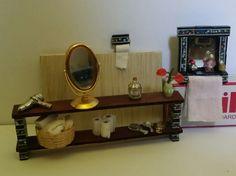 Dolls house bathroom set by Magicalcuriosityshop on Etsy