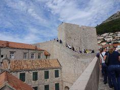 Muita escada -muralhas Dubrovnik