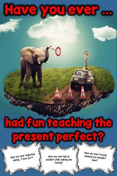 79 task cards to make practicing the present perfect fun and engaging for adult ESL or secondary students