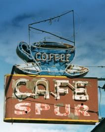 Fine art photo of the 'Top Notch Lunch' neon sign is Great Falls, Montana.