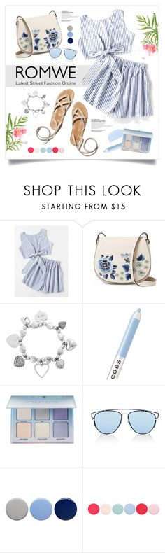 """""""Топ и шорты-ROMWE выиграть!"""" by miss-image ❤ liked on Polyvore featuring French Connection, ChloBo, Marc Jacobs, Anastasia Beverly Hills, Christian Dior, Burberry and Nails Inc."""