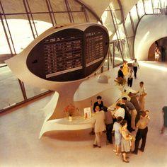 TWA Flight Center, JFK Airport, New York, 1964