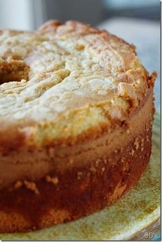 Watch That Plate! — Old Fashioned Southern Sour Cream Pound Cake