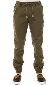 The Vito Cuff Pants in Olive