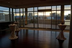 Cocktails at sunset, History Colorado Center