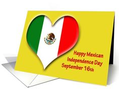 Mexican Independence Day ~ September 16 card
